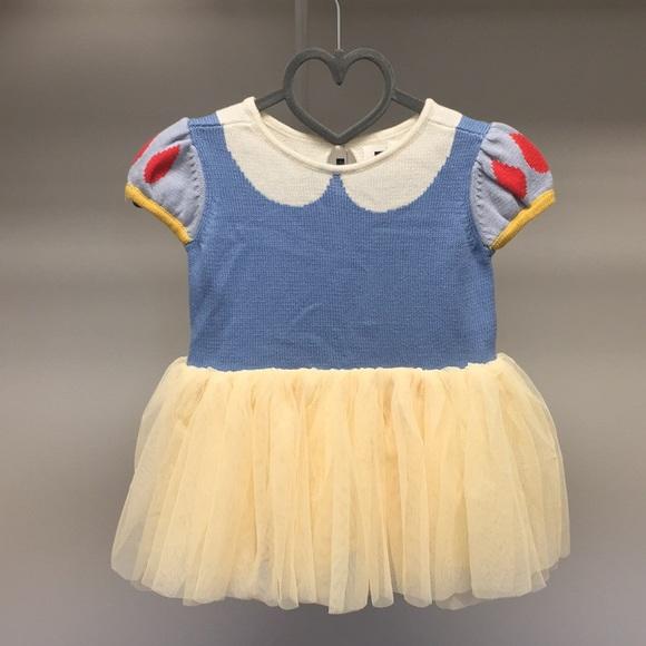5ad7483072 NWT Baby Gap Snow White inspired dress.